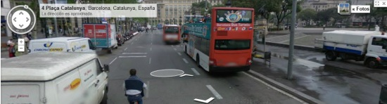 Google Street View, Barcelona
