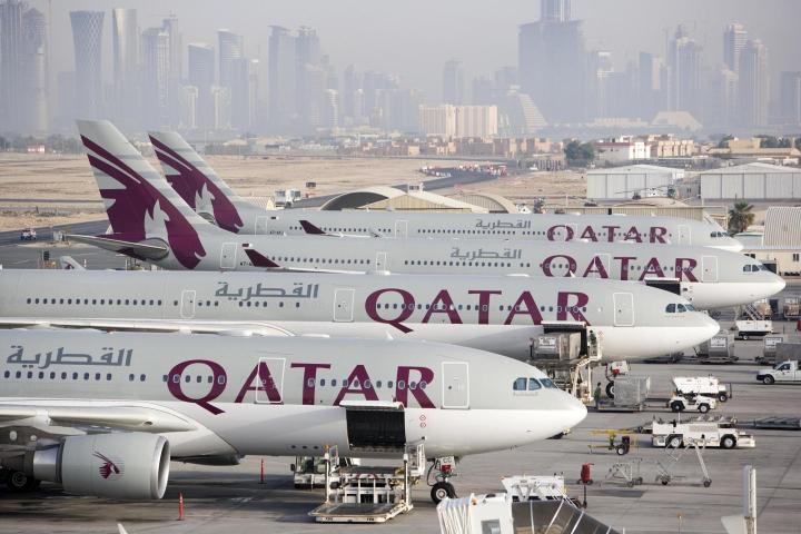 QATAR AIRWAYS - Flota en el hub de Doha (BR)