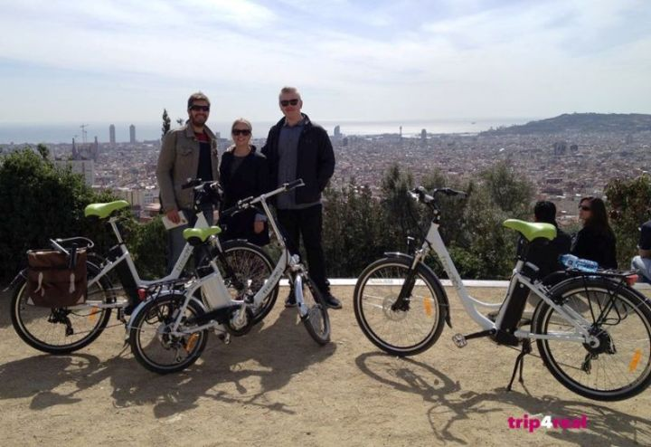 trip4real bikes barcelona
