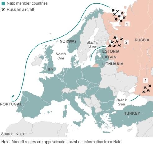 vuelos rusia controlados por OTAN