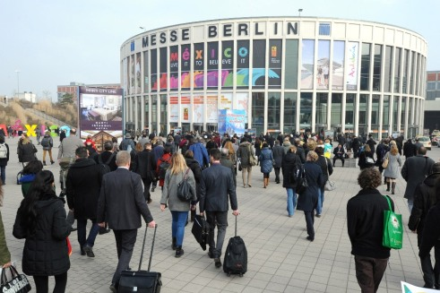 Imagen de archivo de la feria ITB de Berlín.