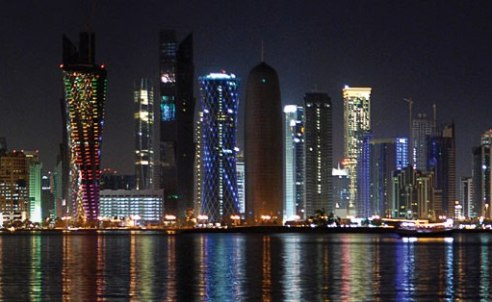 Skyline de Qatar