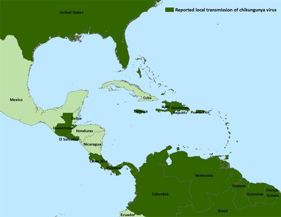chikungunya en el caribe