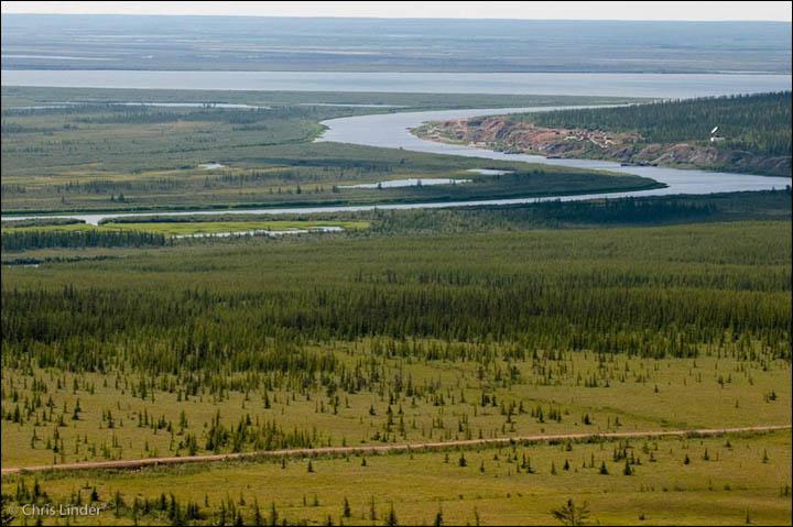"""El área reservada para el """"parque del Pleistoceno"""" en Siberia"""