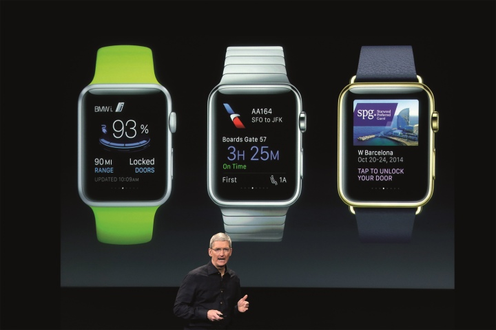 Apple Watch hoteles