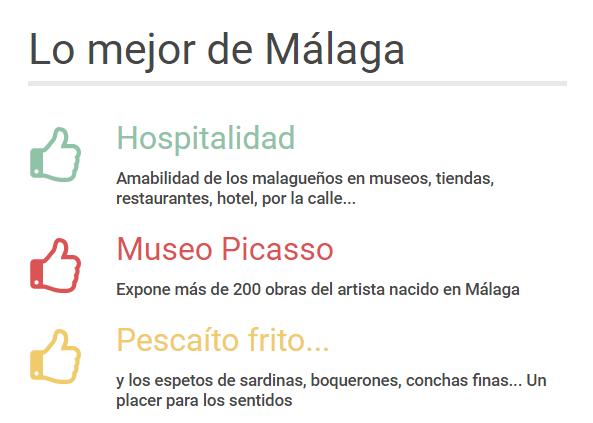 Málaga lo mejor