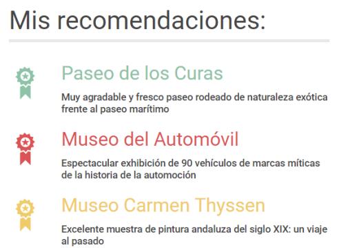 Málaga recomendaciones