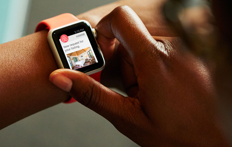 airbnb apple watch