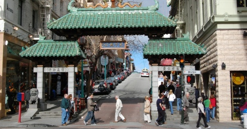 barrio chino, San Francisco. Imagen: Wikipedia